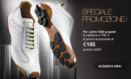 4-TRE-3,an unmissable promotion for the shop online opening