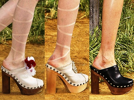 Clogs must-shoe of the 2010 SS