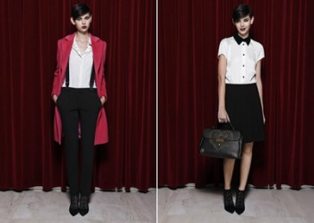 Irony and role game in SS 2013 collection by Moschino Cheap and Chic
