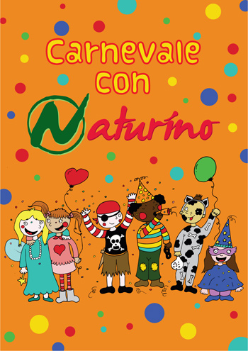 At Naturino, sales continue and there's a special Carnival gadget for all children!