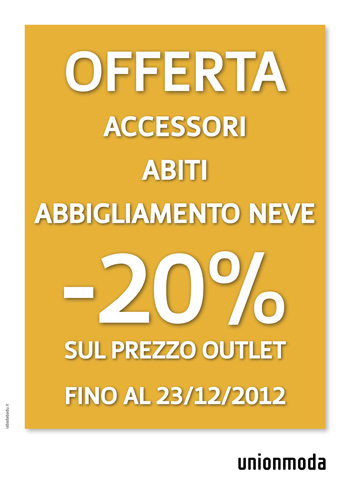 At Unionmoda: new Christmas promotion for you