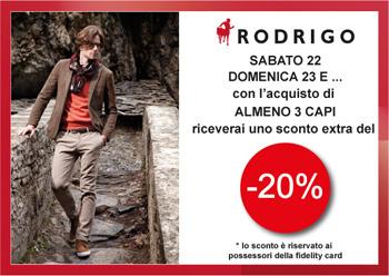 Rodrigo rewards you for your Christmas gifts