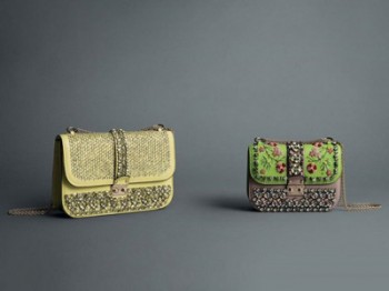 SS 2013 in pop colors with new Valentino bags collection